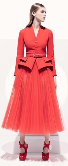 I ❤ NARANJA ❤ #Haute Couture #Dior Resort Collection 2013