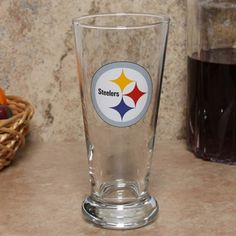 Pittsburgh Steelers 16.5oz Flared Pilsner Glass