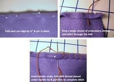 Fleece Blanket, SEWING options. I like the simple blanket hand stitch. I think maybe I'd eve crochet an edge ontop of it.