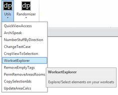 dp Stuff Utilities and Randomizer updated for Revit 2015