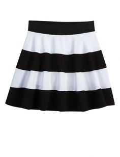 Rugby Stripe Skater Skirt | Girls Skirts & Skorts Clothes | Shop Justice