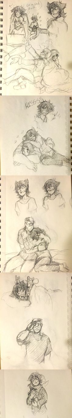 Galra!Keith Doodles by Medli45