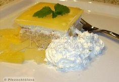 Žravé řezy Recepty.cz - On-line kuchařka Kiwi, Dairy, Pudding, Cheese, Cake, Food, Pineapple, Custard Pudding, Kuchen