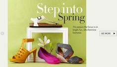 Spring is in the air and in your step. Kick ass. In style.