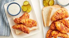 Chicken tenders are pan-fried until crunchy and golden and brushed with a cayenne-spiced butter for a dish that will bring the heat out of your kitchen and onto your dinner table.