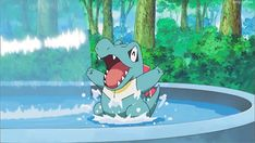 Ahead of the big event, Pokemon GO confirms that the mobile game's January Totodile Community Day exclusive move is the powerful water-type attack Hydro Cannon. Pokemon Go, Water Type Pokemon, Pokemon Tcg Cards, Pikachu, Pokemon Stuff, Pokemon Mobile Game, Pokemon Starters, Moon Missions, Catch Em All