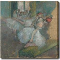 Edgar Degas 'Ballet Dancers' Hand-painted Oil on Canvas