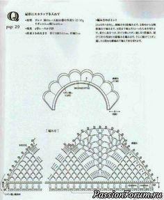 Воротничок - запись пользователя victoria в сообществе Вязание крючком в категории Вязаные крючком аксессуары