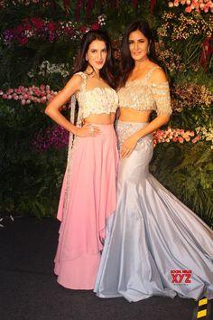 Mumbai: Virat Kohli  Anushka Sharma's wedding reception  Katrina Kaif and Isabelle Kaif - Social News XYZ