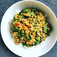 Spinach and green lentil Dahl Spinach and green Lentil Dahl Recipe Green Lentil Dahl Recipe, Vegan Lentil Recipes, Lentil Curry, Curry Recipes, Vegetarian Recipes, Healthy Recipes, Vegan Food, Vegan Dahl Recipe, Vegetarian