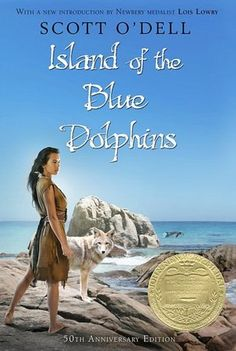 Island of the Blue Dolphins - I took this book out of the library so many times!