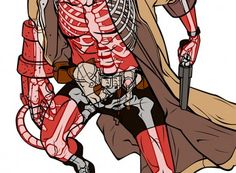 Hellboy Ultimate Xray