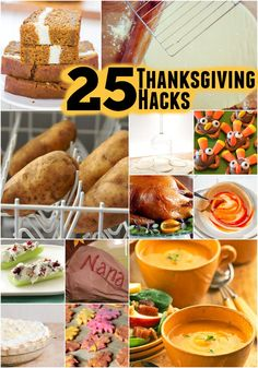 I love these 25 time-saving Thanksgiving Dinner hacks that will make your holiday totally stress free!