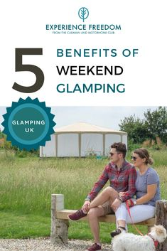 """If you've never been glamping — or """"glamorous camping"""" — you're missing out on one of the holiday world's biggest trends. Only have a weekend to spare for a chill-out break? Perfect. Weekend glamping is a wonderful introduction to the world of stress-free glamping experiences. Here are the top 5 reasons a short glamping break over a weekend should be your next trip away... Glamping Holidays, Camping Glamping, Luxury Camping, Camping Pod, Camping Tips, Family Weekend, Long Weekend, Holiday World, Outdoor Retreat"""