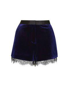 Shorts terciopelo Topshop