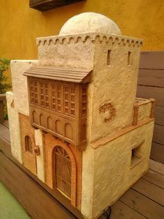Mini Bible world Clay Houses, Ceramic Houses, Vitrine Miniature, Modelos 3d, Desert Homes, Architecture Old, Mini Games, Diy Dollhouse, Miniture Things