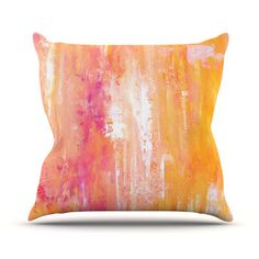 East Urban Home Girls Night Out by CarolLynn Tice Outdoor Throw Pillow