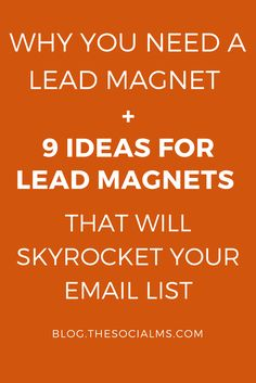Lead magnets have an important role in the online marketing sales funnel: Why you need them, what they can do for you and what you can use as a lead magnet. -sales funnel, email list, list building, subscriber, lead generation, blogging tips, blogging and business, blogging for beginners