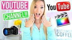 How to Start a Successful Youtube Channel!! Alisha Marie #alishamarie