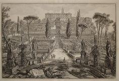 G.B. Piranesi - Villa d'Este a Tivoli