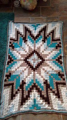 Sterrendeken van Muis - Free Tunisian Crochet CAL by Marjolein Kooiman. Ends November, all files will stay online. In English, German and Dutch. More