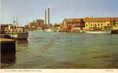 Dorset Postcard Quay Channel From Harbour Road Poole S0 070 | eBay