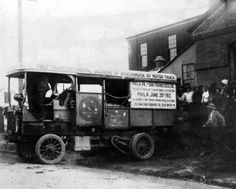 1912 - Five Teamster members complete the first transcontinental delivery by motor truck. It takes them 90 days to travel from Philadelphia to San Francisco.