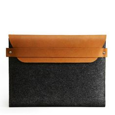 Mujjo iPad Envelope Sleeve Brown, $56, now featured on Fab.