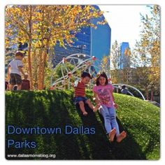 Klyde Warren Park – Downtown Dallas' Newest Park - with great lists of all the park activities and amenities and links to all the other parks in downtown Dallas!