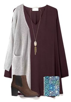 """Day 1: Church with Fam"" by ponyboysgirlfriend ❤ liked on Polyvore featuring American Vintage, Kendra Scott, Vera Bradley, H&M and madimadsfall2k16"