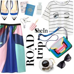 Road Trippin' in Style by punnky on Polyvore featuring Pollini, Georg Jensen and Lord & Berry