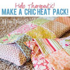 How to Make Microwaveable Heat Packs | Tutorials
