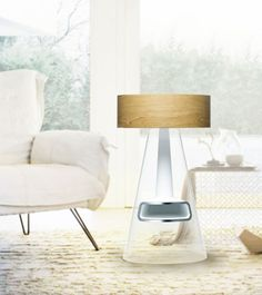 Purion - Air Purifier by Wongyung Lee - Purion is an ion air purifier designed as an integration into a traditional Agungi – or Korean fireplace made of natural stone and soil. | Yanko Design