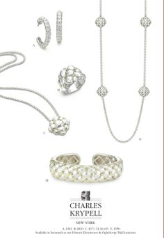 It's not too late to pick up your Valentine's Day gift from Charles Krypell! Stop into Levy Jewelers and shop the collection!