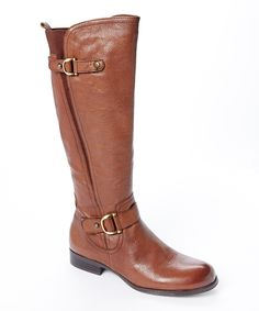 Loving this Banana Bread Jersey Leather Boot on #zulily! #zulilyfinds