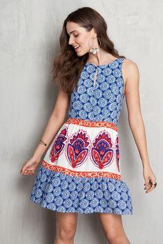 Vestido estampado formentera   Dress to