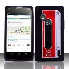 LG Nexus 4 E960 Cassette Tape Case - $5