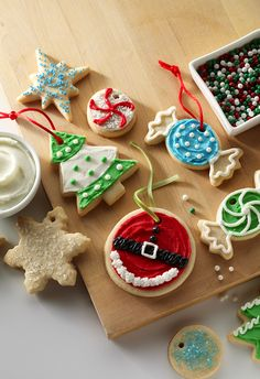 Our best-ever butter cookies. These tender cookies are perfect for decorating for any holiday party.