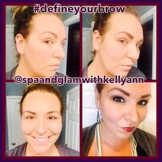 """Continuing with the """"brow"""" theme for the day!!!! #defineyourbrow - it truly makes a different when you shape your brows and fill them in! It defines your face, gives you an instant facelift and brightens your face! #browsmatter #beautyinnovator #spaandglamwithkellyann #dreambig   www.spaandglamwithkellyann.com  Facebook & Instagram: @spaandglamwithkellyann 440-346-6003 kelly@spaandglamwithkellyann.com"""