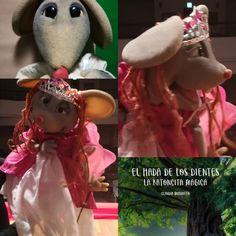 El hada de los dientes. Tooth fairy Puppets, Teddy Bear, Animals, Children's Literature, Tooth Fairy, Fairytale, Wings, Animales, Animaux