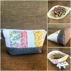 Handmade Essential Oil Pouch by Sewing Sunflowers
