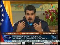 Presidente Nicolás Maduro responde a Obama. Sanciones a EEUU. Ley Habili...