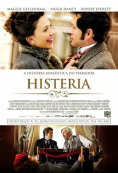 Hysteria (Movie)- The vibrator was the fifth household appliance to be electrified- after the sewing machine, fan, tea kettle and toaster