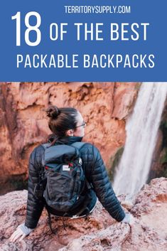 1bb4b2a85fad Packable backpacks pack down to stow in your luggage or backpacking pack