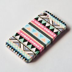 Items similar to Pastel Geometric iPhone 5 Case, iPhone 4 case , iphone case , Pastel Aztec tribal iphone case , iphone cover on Etsy Iphone 4s Covers, Cool Iphone Cases, Ipod Cases, Cute Phone Cases, Coque Ipad, Coque Iphone 6, Iphone App, Ipod 5, Accessoires Iphone