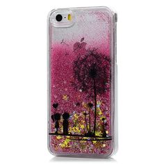 Dynamic Liquid Glitter Sand Star Case For iPhone 5 - 5S - SE (4.0 inches) Quicksand Cases