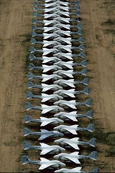 A6 aircraft graveyard Tucson Az. Davis Monthan Air Force Base