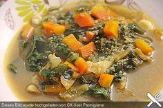Quinoa - Karotten - Suppe mit Mangold Einlage, ein leckeres Rezept aus der Kategorie Schnell und einfach. Bewertungen: 3. Durchschnitt: Ø 3,6.