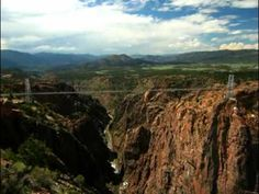 Royal Gorge Bridge & Park :: Cañon City, Colorado  A really cool place to visit.  Rode the Sky swing. Terrifying but totally worth it!! The view was amazing!