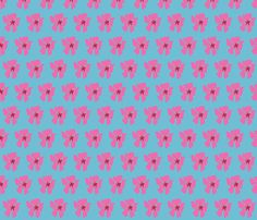 #Pink #Blossom 1 fabric by eyespotdesigns on Spoonflower - custom fabric